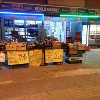 Photo taken at köklü market by Mustafa K. on 1/3/2016