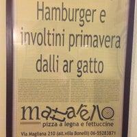 Photo taken at MATTARELLO - Pizzeria Forno a Legna by Alessio D. on 5/14/2014