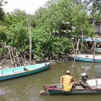 Photo taken at Wisata Anyar Mangrove (WAM) by Mandandaru E. on 12/26/2013