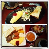 Photo taken at 町屋カフェ 太郎茶屋鎌倉 by Yumipopo on 3/19/2014