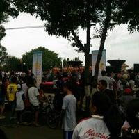 Photo taken at Taman Kota Singaraja by Tut D. on 10/1/2016