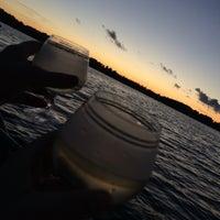 Photo taken at Alauksta ezers by Elīza O. on 8/24/2016