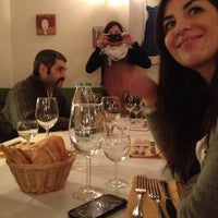 Photo taken at Osteria Al Nove by Roberta P. on 12/20/2012