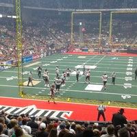 Photo taken at Jacksonville Veterans Memorial Arena by Eric V. on 6/22/2013
