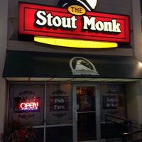 Photo taken at Stout Monk by Chris S. on 1/24/2014