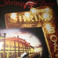 Photo taken at The Shrimp Boat Restaurant by Diane C. on 10/9/2012
