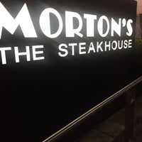 Photo taken at Morton's the Steakhouse by KahLiL P. on 11/27/2016