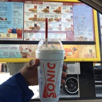 Photo taken at SONIC Drive In by Kahlil P. on 4/7/2015