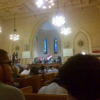 Photo taken at Kasr El Dobara Evangelican Church by Monica A. on 12/2/2013