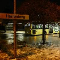 Photo taken at Bahnhof Herrenberg by Andre B. on 1/11/2017