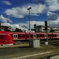 Photo taken at Bahnhof Herrenberg by Andre B. on 6/30/2017