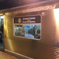 Photo taken at MTA Subway - J Train by Peter R. on 8/29/2013