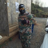 Photo taken at Evo Paintball by Bülent B. on 3/27/2016