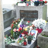 Photo prise au Tombe de Jim Morrison par Beum T. le12/25/2014