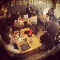 Photo taken at Crackskull's Coffee & Books by Dan F. on 2/10/2013