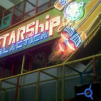 Photo taken at Starship Galactica by FinNy D. on 6/9/2013