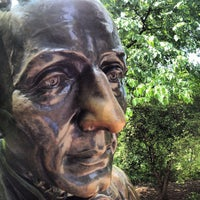 Photo taken at Hans Christian Andersen Statue by jp l. on 6/15/2013