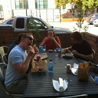 Photo taken at Vitamin D Lunchroom at Ticketfly HQ by Brandy on 10/17/2012