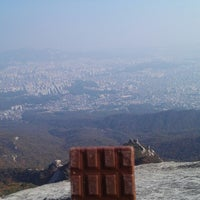 Photo taken at 북한산 둘레길 1코스 시작 by Woo S. on 10/27/2013