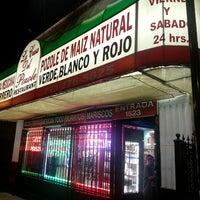 Photo taken at Pozoleria San Juan by Maria R. on 10/6/2013