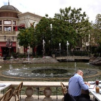 Photo taken at The Grove Water Fountain by Billy B. on 4/15/2013