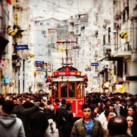 Photo taken at İstiklal Avenue by Tomy C. on 10/21/2013