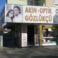 Photo taken at akın 1 optik şube by Saadettin ç. on 1/24/2014