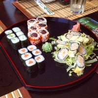 Photo taken at Sushi Bar Pasáž by Anna G. on 3/29/2015