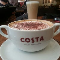 Photo taken at Costa Coffee by Ahmed S. on 10/3/2013