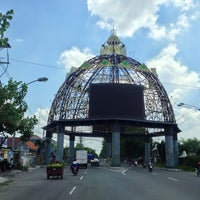 Photo taken at Tugu Adipura by Andy S. on 11/27/2012