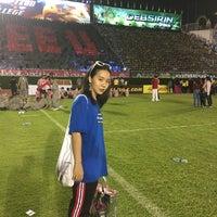 Photo taken at Supachalasai Stadium by Sherlock Y. on 11/18/2017