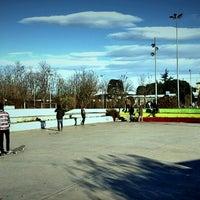 Photo taken at The Skatepark by Christian C. on 12/28/2014