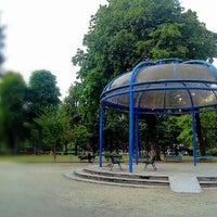 Photo taken at Jardin du Ranelagh by Marco B. on 7/24/2013