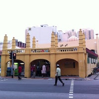 Photo taken at Masjid Angullia (Mosque) by Jase L. on 10/25/2012