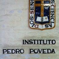 Photo taken at Instituto Superior Pedro Poveda by belen q. on 11/14/2012