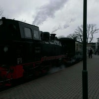 Photo taken at Bahnhof Sellin Ost by Michael P. on 2/18/2016