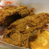 Photo taken at Popeyes by Mark O. on 4/25/2017