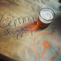 Photo taken at Corning's Gaffer District by Xander H. on 5/24/2014