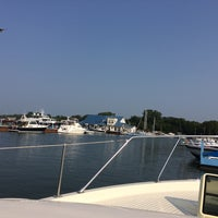 Photo taken at Seaway Marina by Gregory W. on 8/10/2014