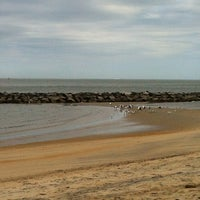 Photo taken at Ocean View Beach at 19th Bay by Fiona F. on 10/15/2012