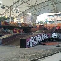 Photo taken at Kompleks Rakan Muda Bukit Kiara by Ayep M. on 4/1/2017