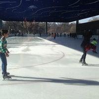 Photo taken at LeFrak Center at Lakeside by Jase on 12/21/2013
