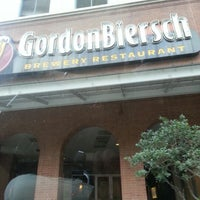 Photo taken at Gordon Biersch Brewery Restaurant by Truckmen on 4/10/2013