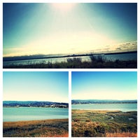 Photo taken at San Francisco Bay Trail - Belmont, Bay & Steinberger Sloughs by Madison D. on 9/13/2013