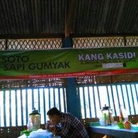Photo taken at Soto Sapi Gumyak Kang Kasidi by Prima B. on 12/20/2014