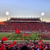 Photo taken at Vaught-Hemingway Stadium by Jacob L. on 10/19/2013