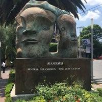 Das Foto wurde bei Paseo escultórico José Luis Cuevas von Gabrielle A. am 6/14/2016 aufgenommen