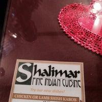 Photo taken at Shalimar by Nawar on 10/11/2013