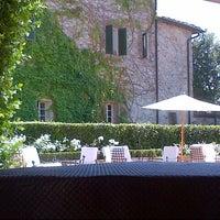 Photo taken at Borgo San Felice - Relais & Chateaux by Michael S. on 7/28/2013