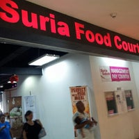 Photo taken at Suria Food Court by Azran Malda A. on 12/23/2012